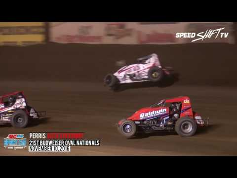 "Highlights: Night #1 - 2016 ""Oval Nationals"" at Perris"