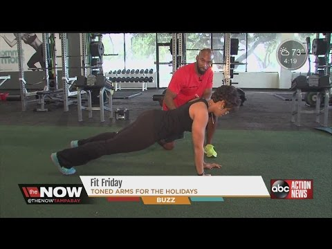 Fit Friday: Laura Harris take it to the gym! #TheNowTampaBay