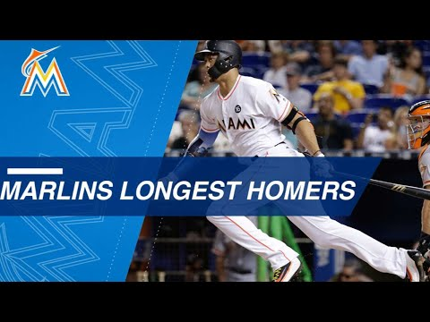 Statcast: Giancarlo Stanton And Marcell Ozuna Highlight The Marlins' Longest 2017 Home Runs