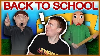 Back to School with Baldi's Basics Gone Wrong!