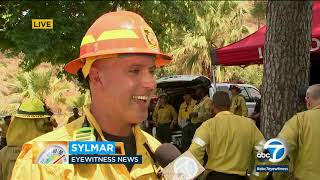 Firefighters prepare for extreme heat warnings across Southern California