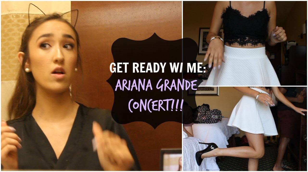 Get Ready With Me Ariana Grande Concert Youtube
