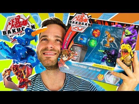 Bakugan Battle Planet UNBOXING BATTLE BRAWLERS PACK En Pe Toys