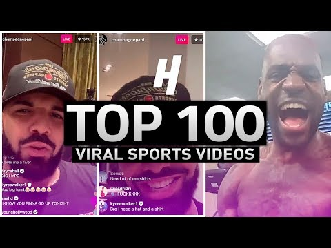 TOP 100 VIRAL SPORTS VIDEOS IN HOUSE OF HIGHLIGHTS HISTORY!