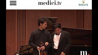 Nobuyuki Tsujii & Fumiaki Miura play Franck's Sonata Oct 2018 thumbnail