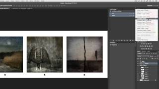 How to Use Layer Comps for Multi State Mock-ups in Photoshop CC