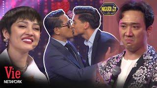 Trấn Thành bật khóc cặp NTK Thái Công - Huy Phan bất ngờ come out, hôn nhau tại Người Ấy Là Ai Mùa 3