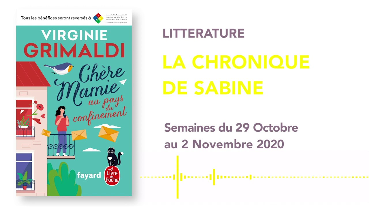 LA CHRONIQUE DE SABINE #33