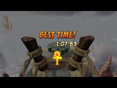 Crash Bandicoot N. Sane Trilogy: The High Road (Time Trial) Gold Relic
