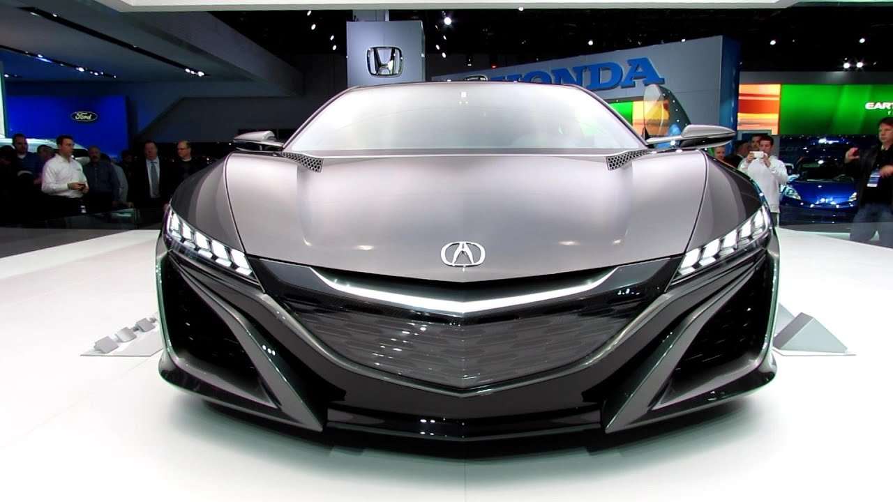2015 acura nsx concept exterior walkaround 2013 detroit auto show youtube. Black Bedroom Furniture Sets. Home Design Ideas