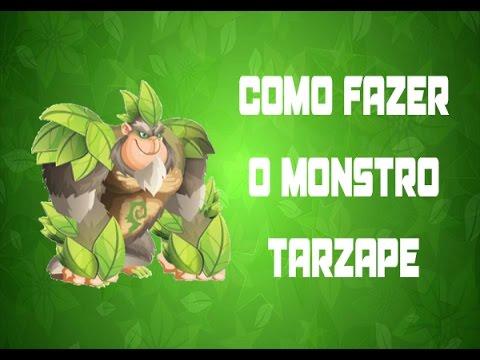 Como fazer o monstro Tarzape em Monster Legends