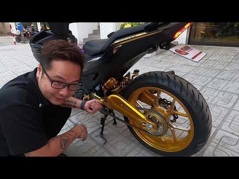 Yamaha Exciter 155 ĐỘ Thành Xe Rồng - Ối dồi ôi Nhìn QUÁ ĐẸP? Review Số gẩy Solo Cho Ex150 / Ex155