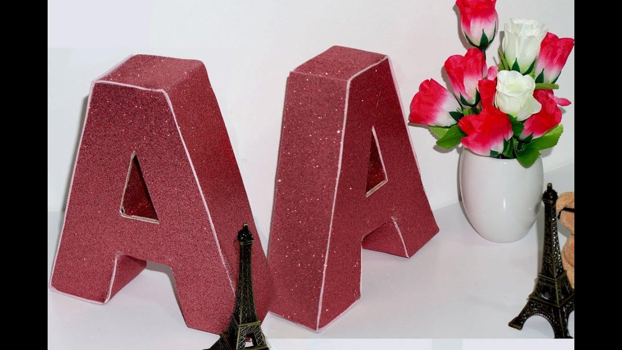 Letra R Decorativa