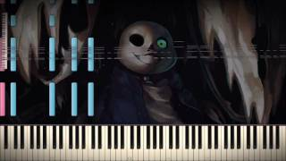 Synthesia- Undertale - Megalovania 82000 Notes Black MIDI (Nightcore)