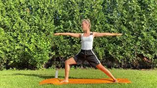 Krótka sekwencja Power Jogi  I  25 min  I Yoga with Paulina