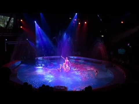 Great Yarmouth Hippodrome - Circus Ring Transformation into Swimming Pool