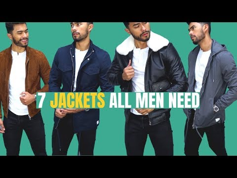 The 7 Best Jackets For Fall & Winter ALL MEN NEED