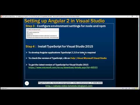Angular 2 tutorial for beginners thumbnail