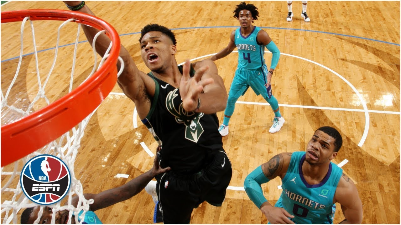 Giannis drops 34, leads Bucks' 4th-quarter comeback vs. Hornets | NBA Highlights