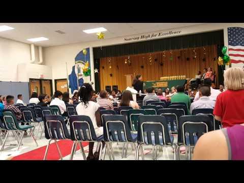 Minnieville Elementary School 5th grade graduation