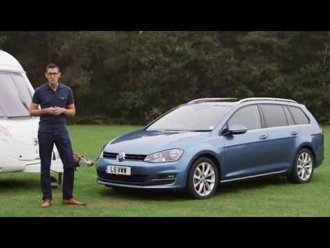 Practical Caravan reviews the Volkswagen Golf Estate