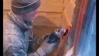 видео Покраска деревянного дома – сохранение красоты древесины