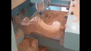 High Performance 4axis 3d Multiheads Wood Cnc Router Machine  Sofa Legstraining In Riyadh,ksa