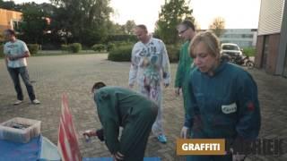 graffiti-fabriek - workshop graffiti bedrijfsuitje op locatie