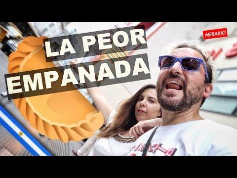LA PEOR EMPANADA DE BUENOS AIRES (Buscaba la mejor pero...) Ft. Ceci Saia