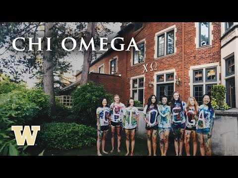 Chi Omega Recruitment 2016 - University of Washington