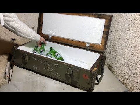 DIY From bomb box to cooler box,lifehack