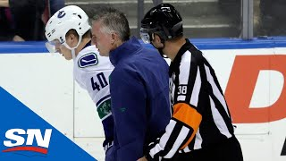 Should Mike Matheson Be Suspended For Hit on Elias Pettersson? | Hockey Central at Noon