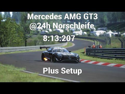assetto corsa ps4 mercedes amg gt3 @24h norschleife hotlap+setup