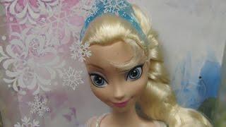 Disney Frozen Sparkle Princess Elsa Doll - Mattel
