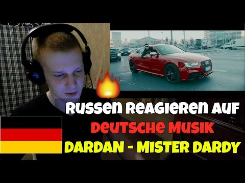 RUSSIANS REACT TO GERMAN RAP | DARDAN - MISTER DARDY | REACTION TO GERMAN RAP