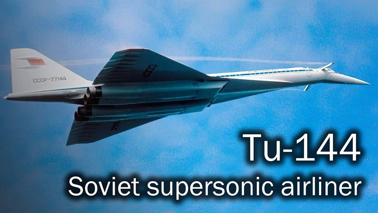 Tu-144 - the Soviet supersonic - YouTube