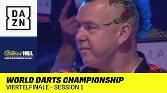Wright kämpft um Halbfinal-Ticket: World Darts Championship | Viertelfinale - Session 1 | DAZN