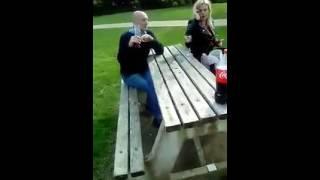 Disgraceful drunk couple part 2