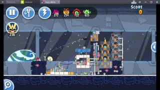 Angry Birds Friends Year In Space Tournament ● LEVEL 4 ● 213 K HD ● Week 199 ●  POWER UP