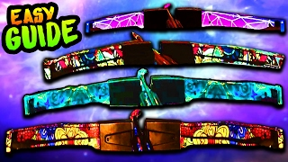 ALL UPGRADED BOWS EASY GUIDE (RAVE IN THE REDWOODS EASTER EGG TUTORIAL/WALKTHROUGH BOW UPGRADES) thumbnail