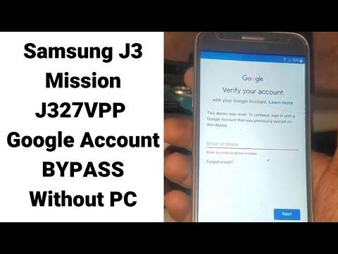 Samsung J327Vpp Frp