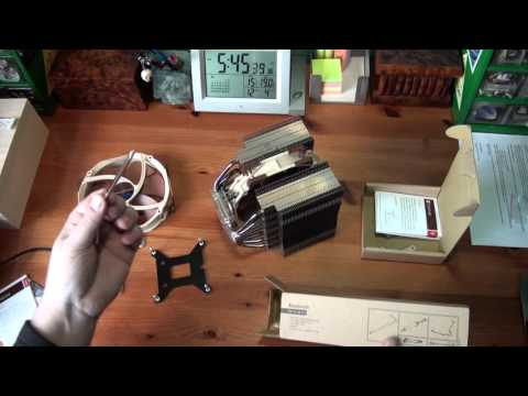 Noctua NH-D15 Cooler Unboxing and Installing
