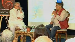 Gulzar interview by Swanand Kirkire at jaipur literature festival