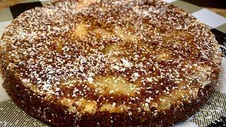 ONE BOWL APPLE CAKE ( NO MIXER &amp FRESH INGREDIENTS)