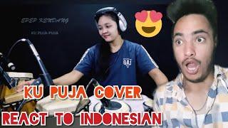 Download lagu KU PUJA - PUJA COVER EPEP KENDANG | Reaction