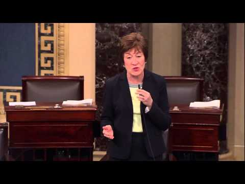 "Senator Susan Collins: ""It is time for this shutdown to end."""