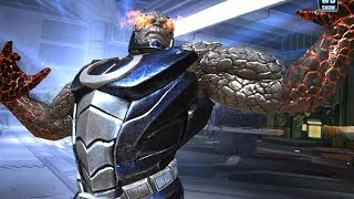Repeat youtube video Injustice: Gods Among Us - Darkseid Super Attack Moves [iPad] [REMASTERED]