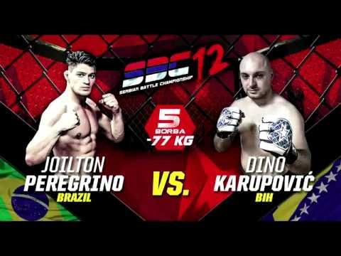 SBC 12  Joilton Peregrino Santos vs. Dino Karupović  Serbian Battle Championship