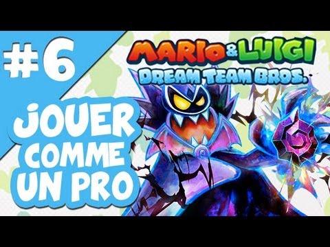 Jouer comme un Pro à Mario & Luigi Dream Team Bros # 6