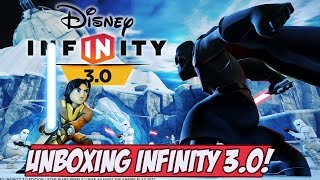 Unboxing Disney Infinity 3.0 e VÁRIAS MINIATURAS INCRÍVEIS
